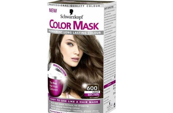 Шварцкопф Color Mask 600 «светло-каштановый»