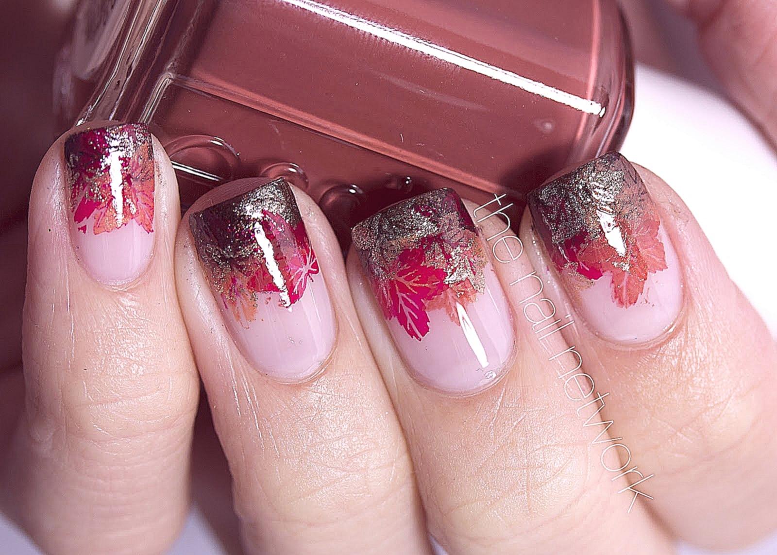Стильные узоры для ногтей