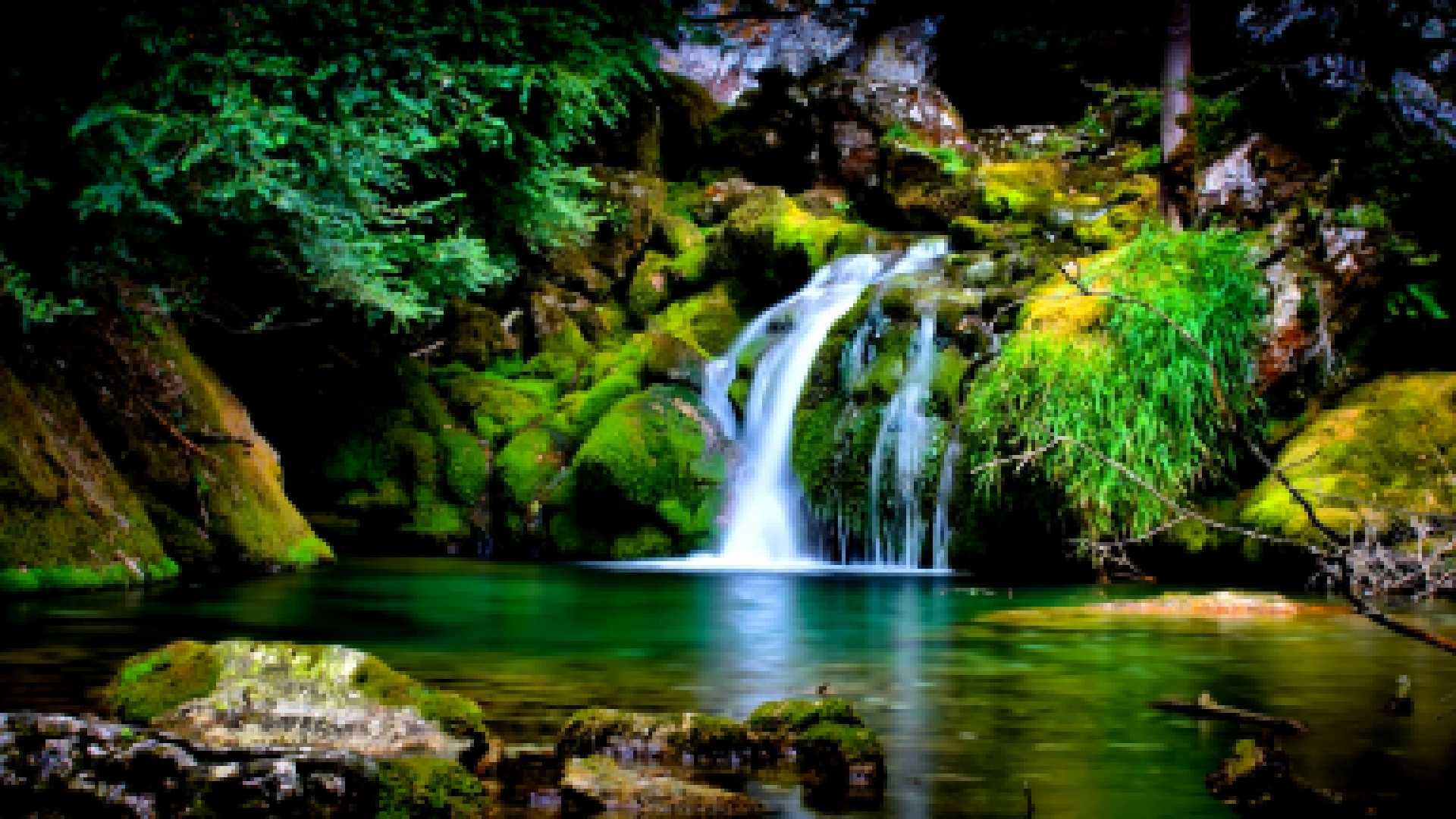 nature, Landscape, Waterfall, 3D HD Wallpapers Free Desktop Background Imag...