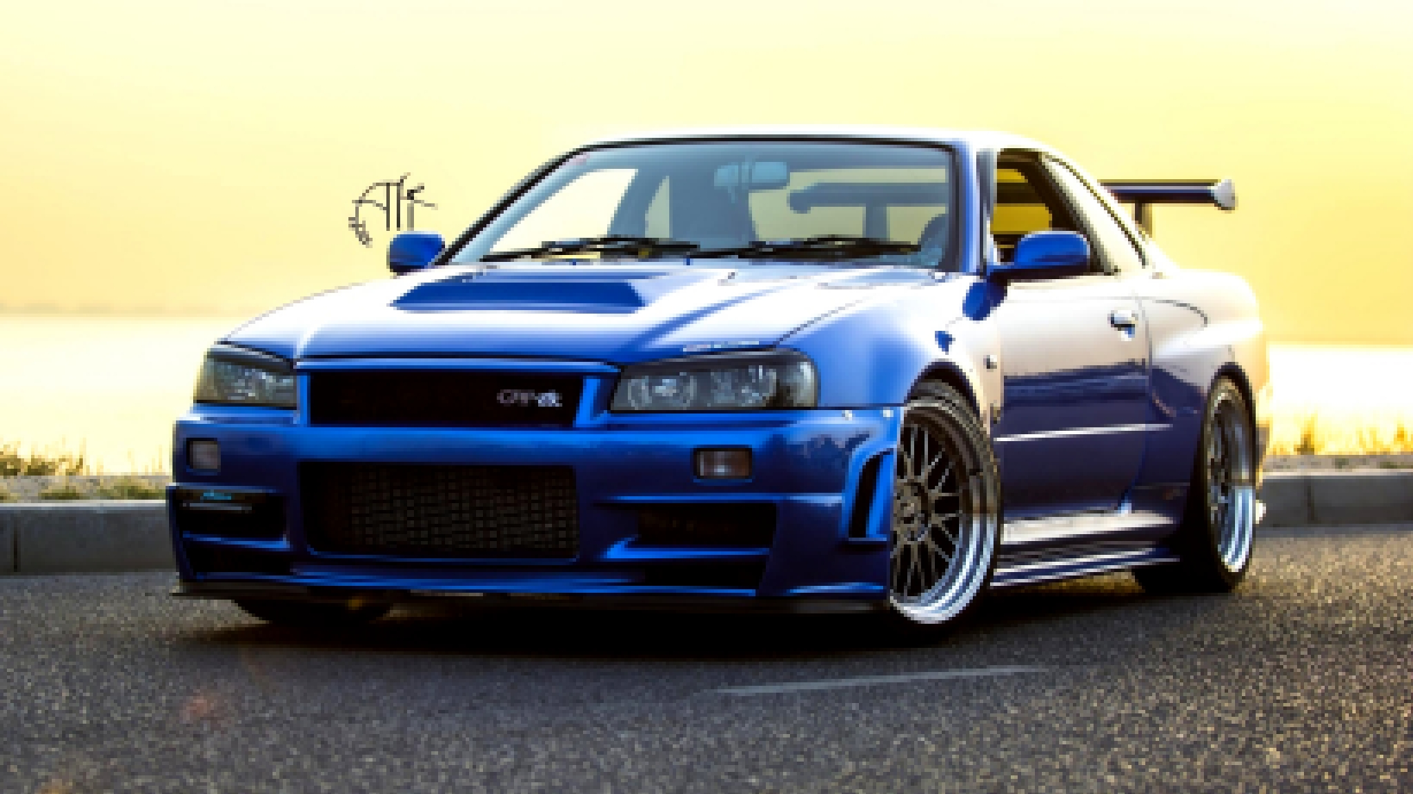 Nissan Car Tuning Nissan skyline gtr Wallpaper Dual Wide 2048x1152.