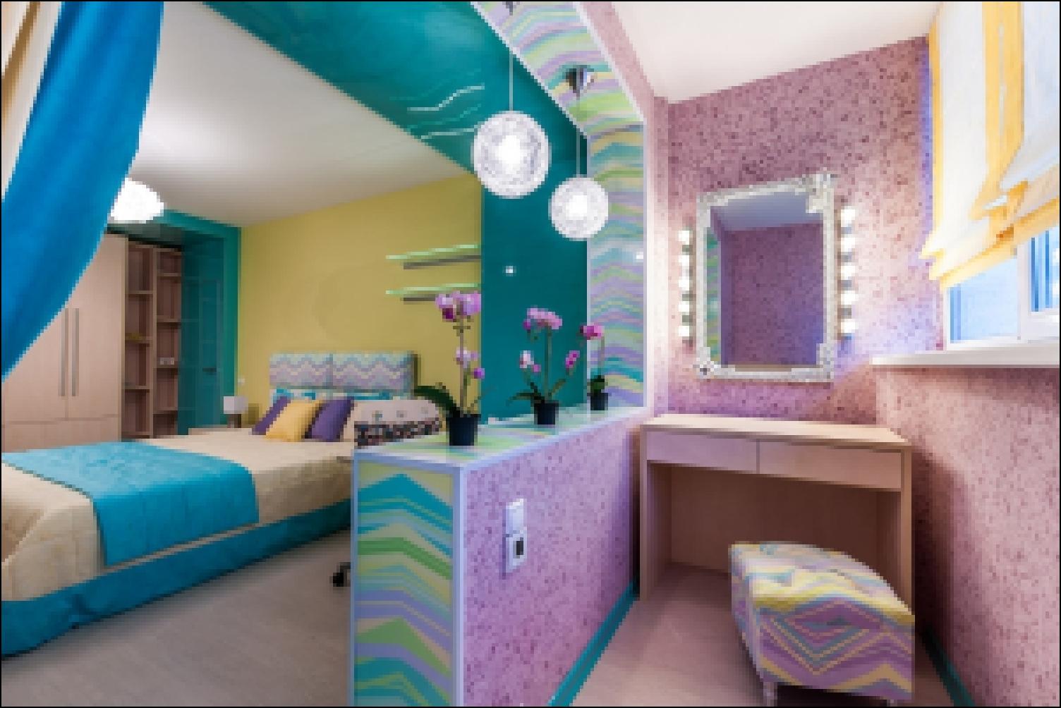 Дизайн спальни с выходом на балкон. примеры и фото оформлени.